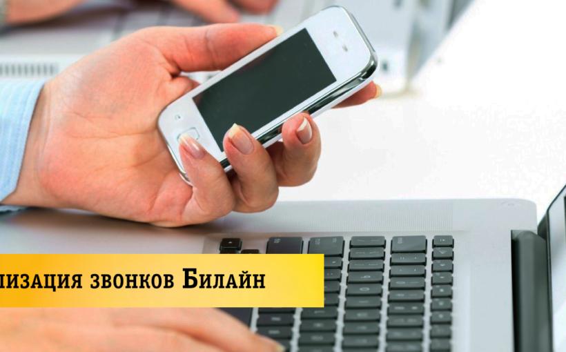 Детализация звонков Билайн бесплатно